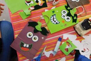 2019-10-24 : Ateliers Brico-Kids : Les sacs d'Halloween